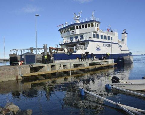 Kuttet i ferjeprisene vil i første omgang ikke berøre billettprisene hos Kragerø Fjordbåtselskap.