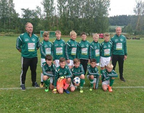 13-åringane til Uskedalen fekk ein tøff start på norway Cup. (Foto: Uskedalen.no/Endre Myklebust)