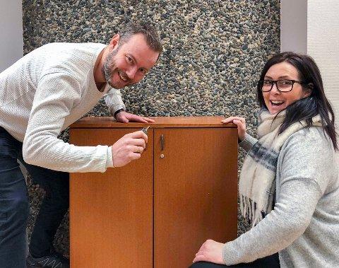Nyetablering: Christian Krüger Enge og Irén Nilsen har etablert Lofoten Escape & Adventures AS.