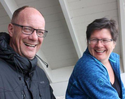 NABOER: Øystein A. Larsen og Anne Marie Finstad bor i Bekkelagsskråningen, og er to av rundt femti personer som rammes mest av støy, støv og rystelser fra utbyggingen av Bekkelaget avløpsrenseanlegg.