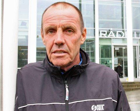 VEIS ENDE: Charles Christiansen var lommekjent i Tromsø både som postmann og taxisjåfør. Men han ble særlig kjent for sine utrolige løpeprestasjoner.