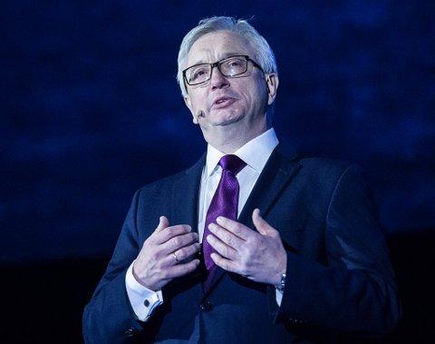 GÅR AV: Karl Eirik Schjøtt-Pedersen sier det er ei tid for alt når han nå gir seg som direktør for Norsk olje og gass. Så langt har han ikke konkrete planer om ny jobb.