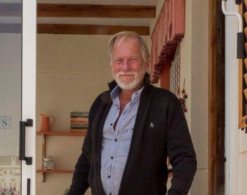 SEIG: Selv sier Bjørn Evensen at han er et seigt skinn, og  bilturen de neste dagene blir nok like seig.