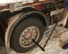 Statens vegvesen kontrollerte mandag kveld 27 enheter på E6 Saltfjellet.