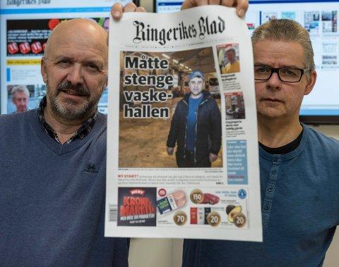 Rune Smedshammer og Ole Martin Solberg