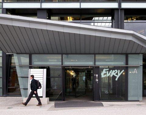 Til Fet: IT-selskapet EVRY har lokaler sammen med Telenor Norge på Fornebu utenfor Oslo. Nå utvider EVRY tjenesten sammen med IBM. Nysatsingen skal foregå i Fet. Foto: NTB scanpix