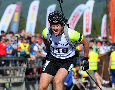 I RUTE: Martin Lindland har gjort en solid treningsjobb i sommer og høst. Den hardtsatsende bødalingen ser frem til å innlede kommende sesong.