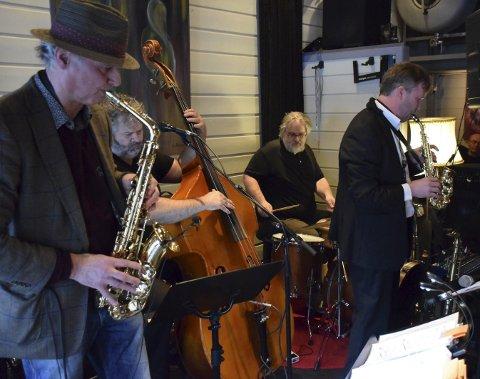 Populære: Jazzy Sassy Frankfurters er ikke noe mindre populære etter 150 konserter på Draaben. Alle foto: Morten Fredheim Solberg