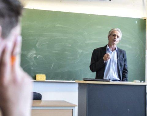 Imponert: SVGS-rektor Harald Møller uttrykte stolthet over hva hans elever har sattt igang.