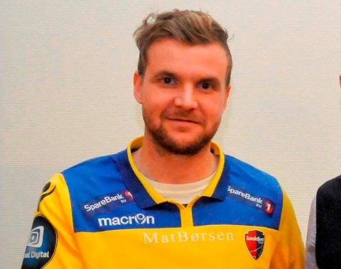 TRIVES I SANDEFJORD: Ingvar Jónsson, trives veldig godt i Sandefjord, men han ønsker seg en innendørshall.