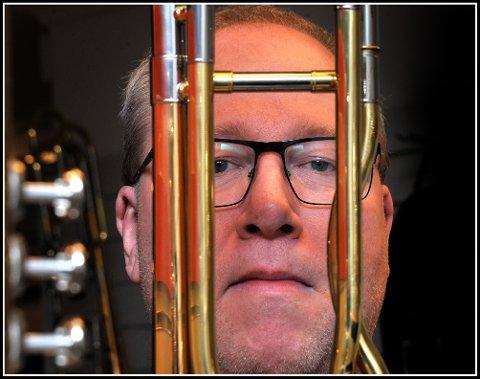 Gir seg: Etter 30 år som skolekorpsdirigent gir Geir Lorentzen seg.