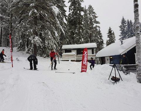 Da Svanlihytta åpnet serveringsstedet i midten av januar, benyttet over 200 skiløpere tilbudet åpningshelgen.