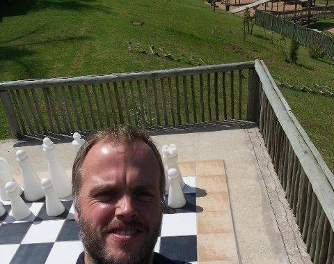 Rune Holmeide i Port Edward, Sør-Afrika.