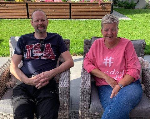 VENTETID: Monica Skjære Håve (54) og Per Inge Håve (49) har ventet i over ett år på å overta drømmehytta.