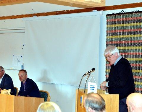 Stemte for: Svein Erik Lunde (V) og tre ifrå Senterpartiet ville innføre administrasjonsutval i Øystre Slidre kommune att. Det har vore brote sidan 2003.