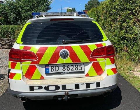 LETEAKSJON: Politiet er på Fagerstrand i 12-tiden tirsdag i forbindelse med at en fireåring er meldt savnet.