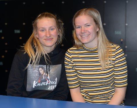 Rina Finborud Resberg og Elida Rugsveen, fra storjuryen.