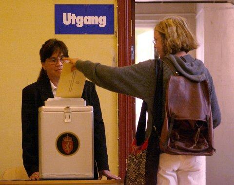 Søndag og mandag gjennomføres kommunevalget i Ås.