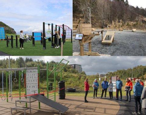 Bodø kommune har planlagt å få på plass totalt seks treningsparker.