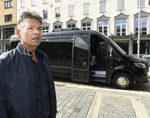 Geir-Ståle Angeltveit ble først rammet av oljekrisen, og er nå sterkt berørt av koronaepidemien                        etter at han gikk inn i turistnæringen i vinter. FOTO: RUNE JOHANSEN
