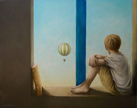 """""""The window of opportunity"""" av Tom Erik Andersen."""