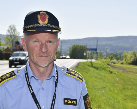 NY TID: Stig Rønnebergs dager som lensmann går mot slutten. Fra 1. juni blir han seksjonsleder for hele Eiker.