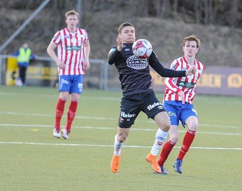 I FORM: Youssef Chaib scoret to mål mot Askim mandag kveld. Her fra en kamp tidligere i år.