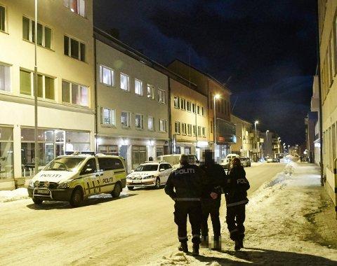 BORTVIST: En 19 år gammel mann ble bortvist fra Narvik sentrum natt til lørdag. Dette bildet er et illustrasjonsfoto.