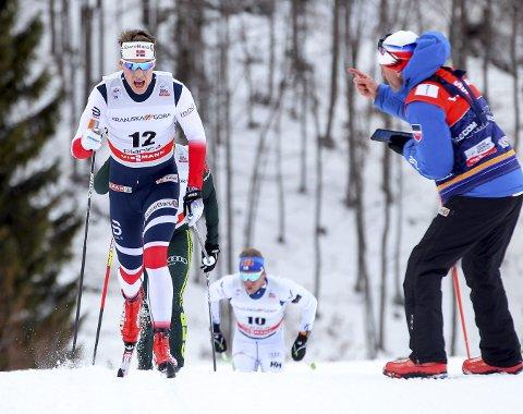 BESTE NOENSINNE: Follebu-løperen Mattis Stenshagen ble tredje beste nordmann da han gikk inn til en sjuendeplass under verdenscuprennet i Planica. Foto: Primoz Lovric/Scanpix