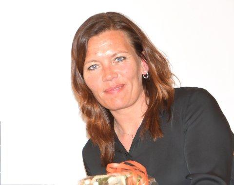 KRAFTINNTEKTENE ØKER: Mariann Skotte, ordfører i Lesja, gleder seg over resultatet av kraftsalget.