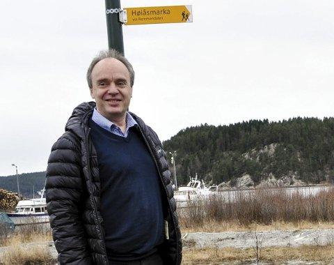 FØLER HAN HAR STØTTE: Daglig leder i Norske Helsehus AS, Tore Borthen, føler han har politikernes støtte i forbindelse med utbyggingen på Tyska.   – Innvendingene mot sentrumsplanen frykter vi ikke, sier han.