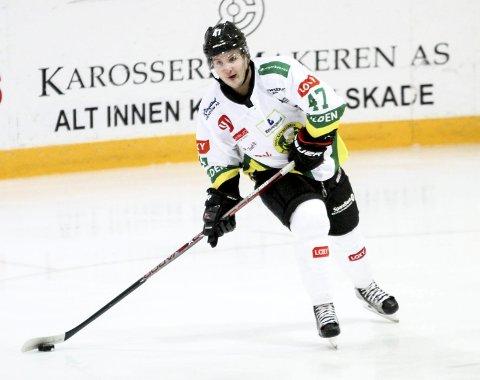 KLARE TIL KAMP: Tobias Skaarberg og Comet har prestert bra så langt i 1. divisjon og ligger på tredjeplass. Denne uka venter to tøffe og viktige kamper mot tabelltoer Ringerike. Den første spilles på Hønefoss i kveld.