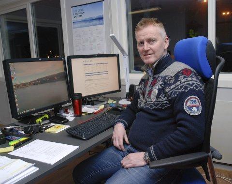 Havnesjef Bjørn Tore Sjåstad i Berlevåg.