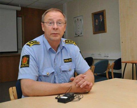 PÅGRIPELSE: Svein Tore Nilsen sier politiet pågrep en mann i Alta onsdag, mistenkt for for flere straffbare forhold, blant annet tyverier.