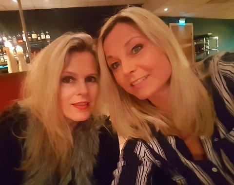 BRYLLUP: Hanne Dahl (til høyre) skal gifte seg og Silja Sjursen være forlover. Men bare hvis hun kommer seg til Vadsø på fredag.