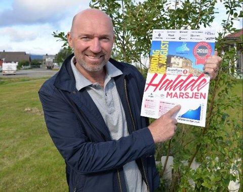 Glød og Trygve Nygård kan nok en gang invitere til Halddemarsjen. Foto: Kronstadposten