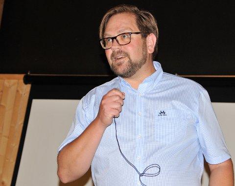 Møter innbyggerne: Ordfører Roger Evjen vil høre dine innspill.