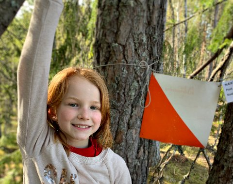 FERSK KNUTETRIMMER: Tuva Birgitte Solberg Strand (9) synes nærtrim er kjempegøy.
