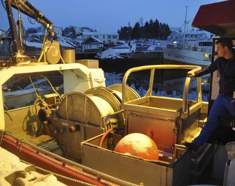 DEKK: -Båten er rustet for snurrevad og alt er meget praktisk lagt opp, sier Martin.