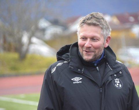 Førstevalget: Robin Hansen står øverst på ønskelista til spillerne, som neste sesongs trener for Leknes FK. Foto: Eirik Eidissen