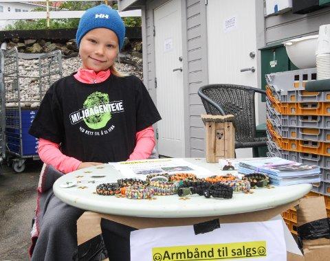MILJØAGENT: Tilde Aavik fra Korshamn engasjerer seg for miljøet og har blitt miljøagent.