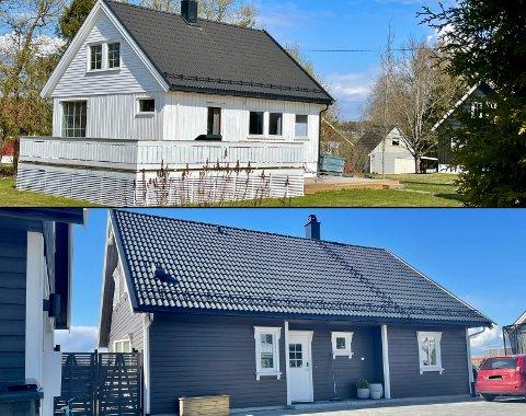 Kirkegrenda 29 og Augerødlia 47 ble i april solgt for henholdsvis 3.750.000,- og 5.400.000,-.