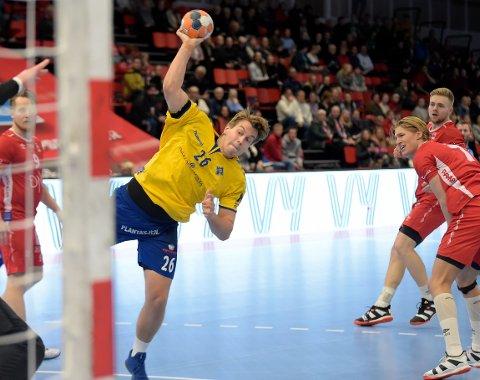 STERK: Aksel Andre Strupstad var sterk på linja med syv scoringer.