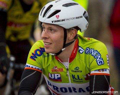 Sykkelkyndig: Jonas Orset er en norsk landeveissyklist som sykler for belgiske Prorace. Han gir her gode tips til vårrengjøring av sykkelen. 26-åringen kommer fra Langhus.