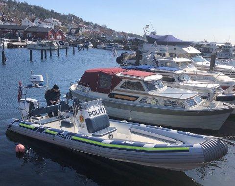 DRØBAK: Båten politiet bruker til å patruljere sjøen i vårt distrikt er stasjonert i Drøbak.