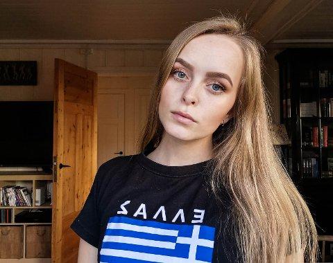 FORTVILET: Andrea Hoff Haga er oppgitt over at noen utgir seg for å være henne på nettet.