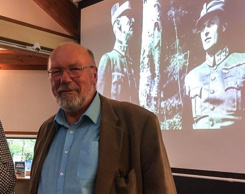 Innvasjonen av Norge: Forfatter av boka «Kongens nei», Alf R. Jacobsen, holdt foredrag på biblioteket i Larvik.