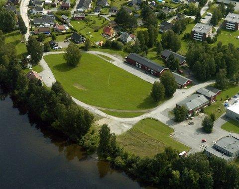 Her kommer det ny skole, og da er det ikke plass til sirkus. Foto: Frode Johansen