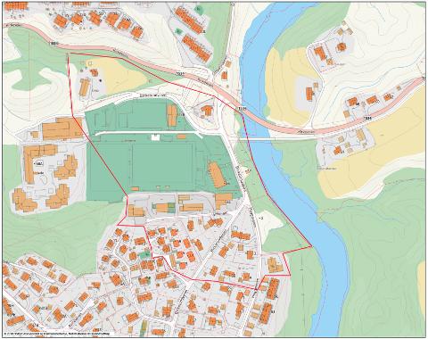 EVAKUERES: Disse områdene blir evakuert, melder Nittedal kommune.