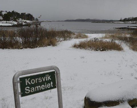 Skal merkes: En grunne langt inne i Korsvika, mellom Asnesodden og Tangen, er blant stedene som skal merkes. Foto: Jan Roaldset